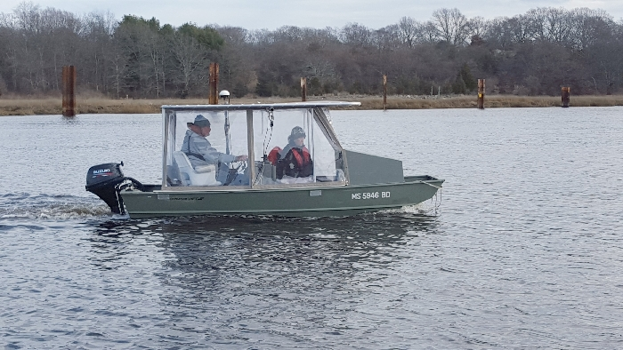 Aluminum Boat Enclosures : Shallow draft aluminum research vessels for survey and